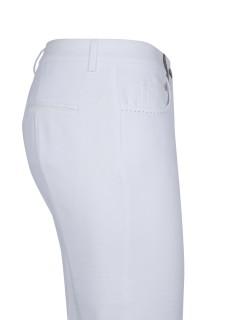 Pantalón blanco piqué